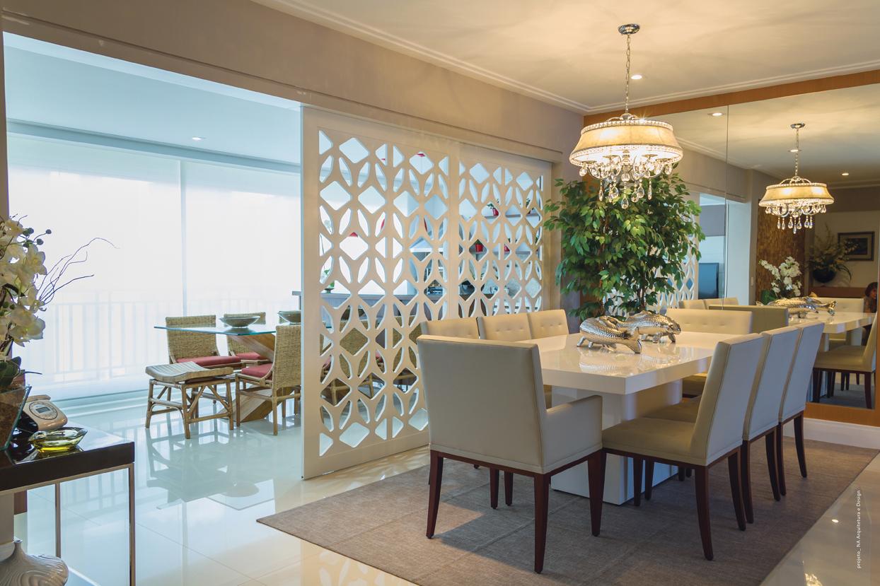 Biombos de madeira versatilidade na decora o portello - Biombos para separar ambientes ...
