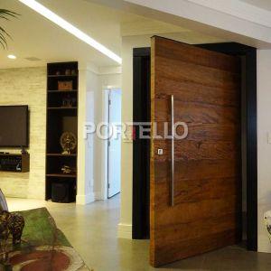porta pivotante madeira demolicao batente ebano