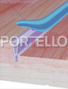 ACA6079 borracha de vedacao de porta
