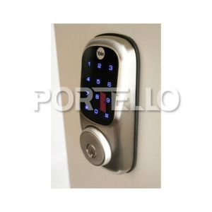 Yale Fechadura Digital YDR221 Senha Chave Touchscreen bright