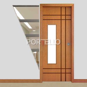 Porta Eclisse Embutir ptl 510 vidro