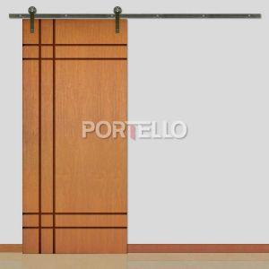 Porta Correr Roldana Aparente ptl 510