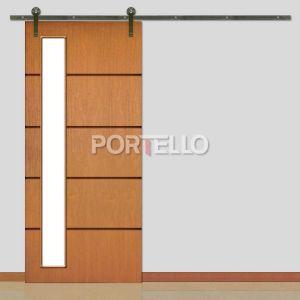 Porta Correr Roldana Aparente ptl 46