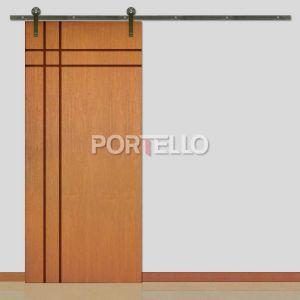 Porta Correr Roldana Aparente ptl 51