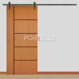 Porta Correr Roldana Aparente ptl 49r