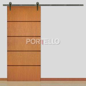 Porta Correr Roldana Aparente ptl 44