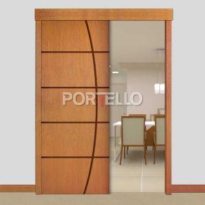 Porta Correr Trave Completa PTL53