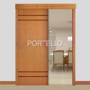 Porta Correr Trave Completa PTL444