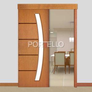 Porta Correr Trave L PTL48