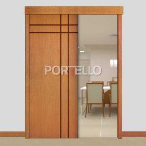 Porta Correr Trave Completa PTL51