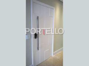 pc porta mosaico laqueada branca 6184