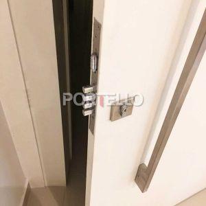Porta Seguranca Fechadura Multiponto Quadrada